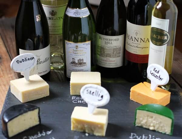 A St. Patrick's Day Irish Cheese and Wine Pairing