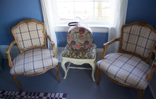 Antique Chairs at Carlton Inn B&B