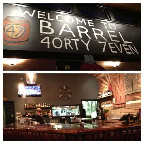 Barrel 47 Restaurant Carlton Oregon