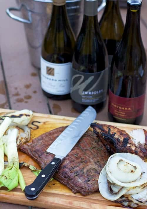Flank Steak and Pinot Noir Wine Pairing