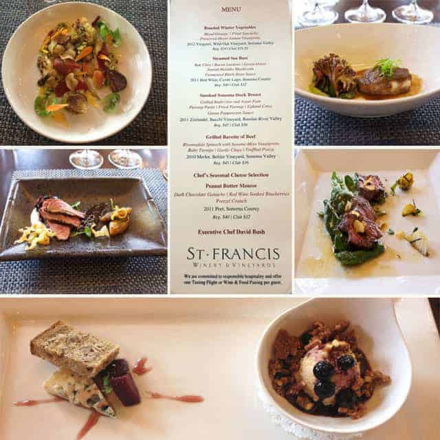 Food and Wine Experience at St. Francis Winery copy