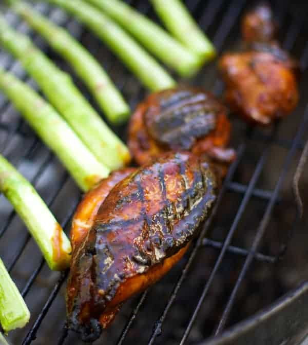 Grilled and Glazed Chicken