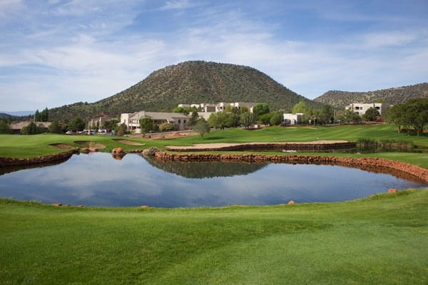 Golf Course at the Hilton Sedona Golf Resort