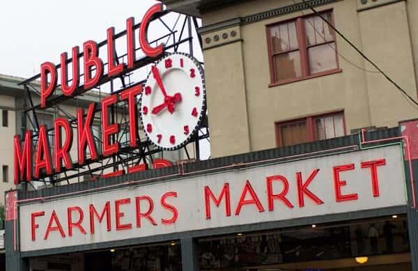 Pike Place Farmer's Market Seattle