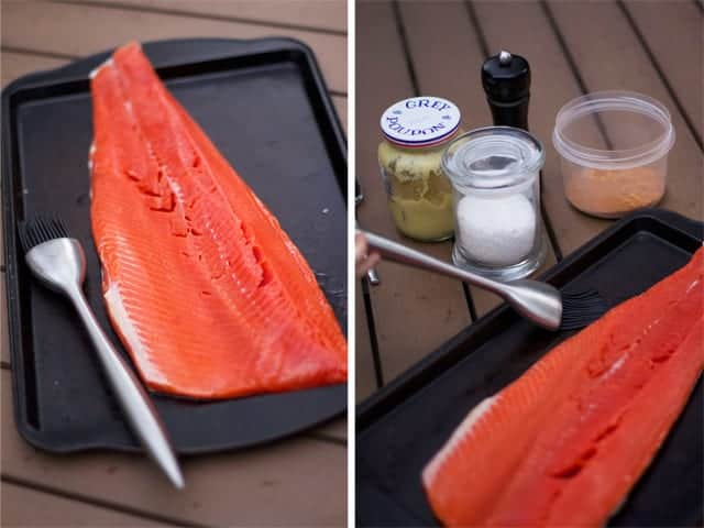 Prepping your Salmon