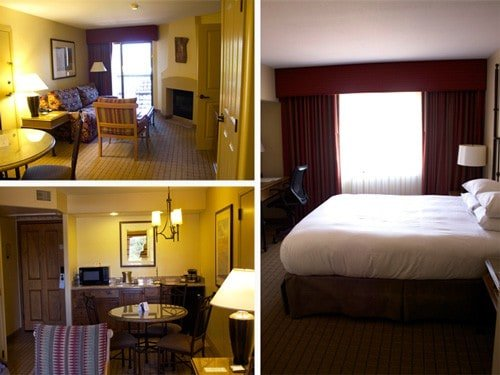 Rooms at the Hilton Sedona Resort