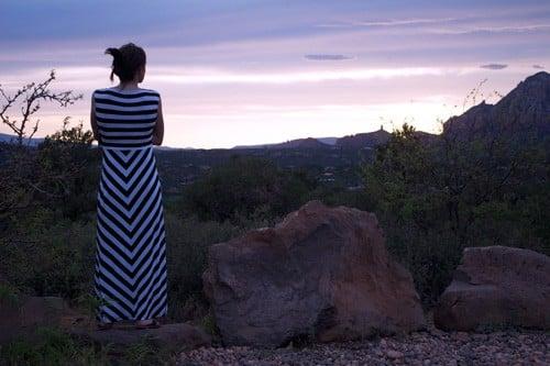 Watching-the-Sun-Set-Over-Sedona-Arizona