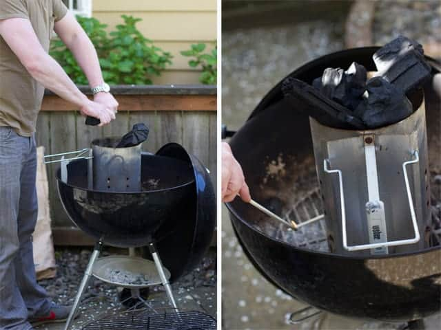 prepping-charcoal-grill