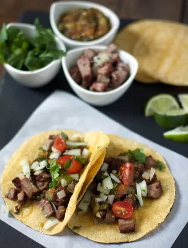 Beef Brisket Tacos | vindulgeblog.com