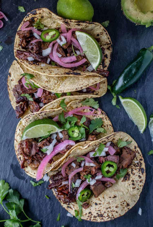 Leftover Brisket Tacos