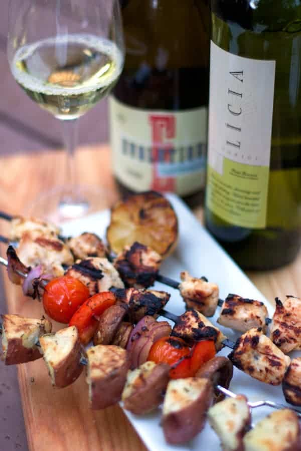 Grilled Chicken Skewers and other Recent Articles on Food, Wine, and BBQ