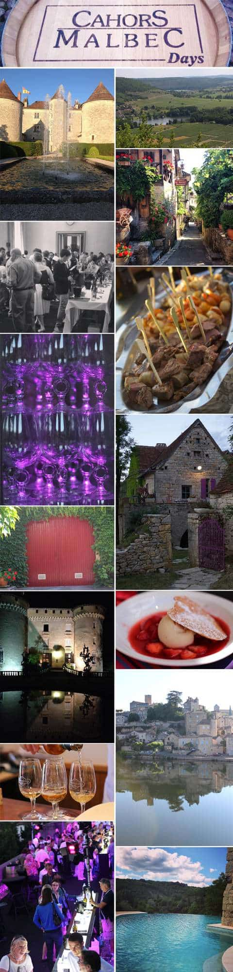 Cahors Photo Collage