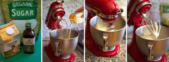 Making Homemade Whipped Cream