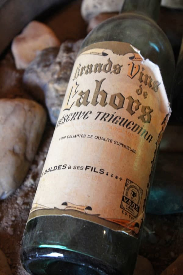 Old Cahors Wine Bottle