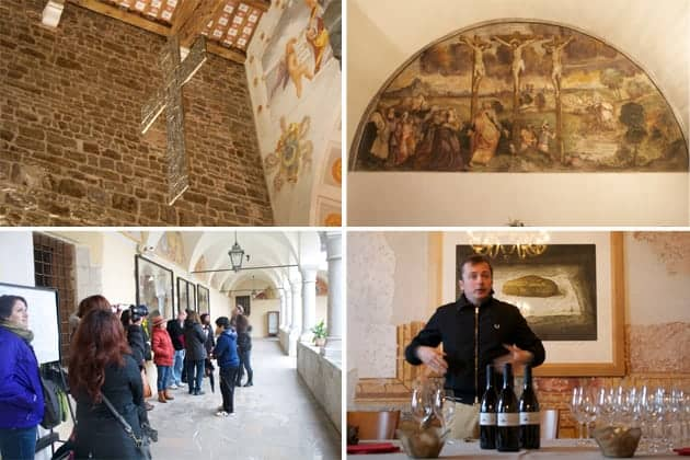 Touring The Abbey of Rosazzo in Friuli, Italy