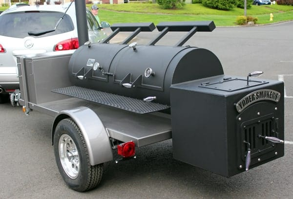 Yoder Chisholm II Trailer Smoker