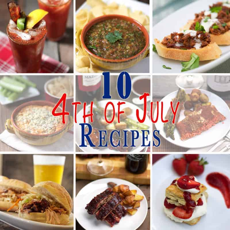 10 Fourth of July Recipes for your BBQ