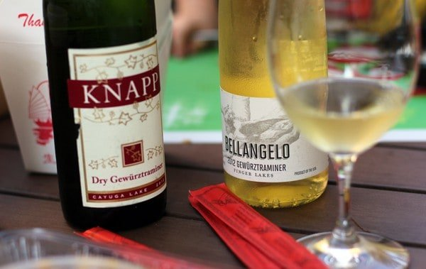 Pairing Finger Lakes Gewürztraminer with Thai Food