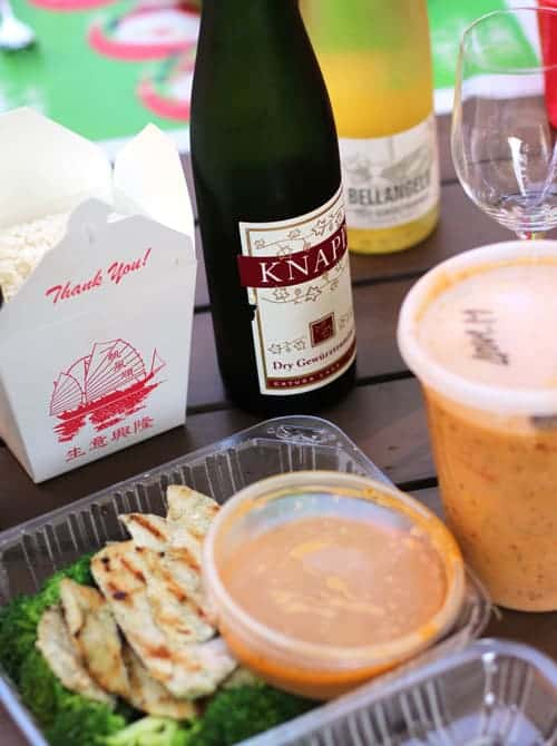 Pairing Thai Food with Wine