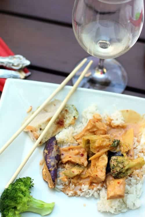Pairing Wine with Thai Curry