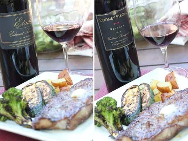 2005 Etude Cabernet Sauvignon & 2010 Rodney Strong Reserve Cabernet Sauvignon