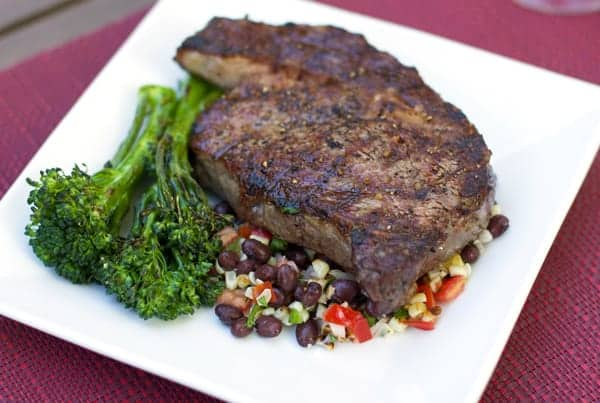 28-Day Dry Aged Grilled Ribeye Steak