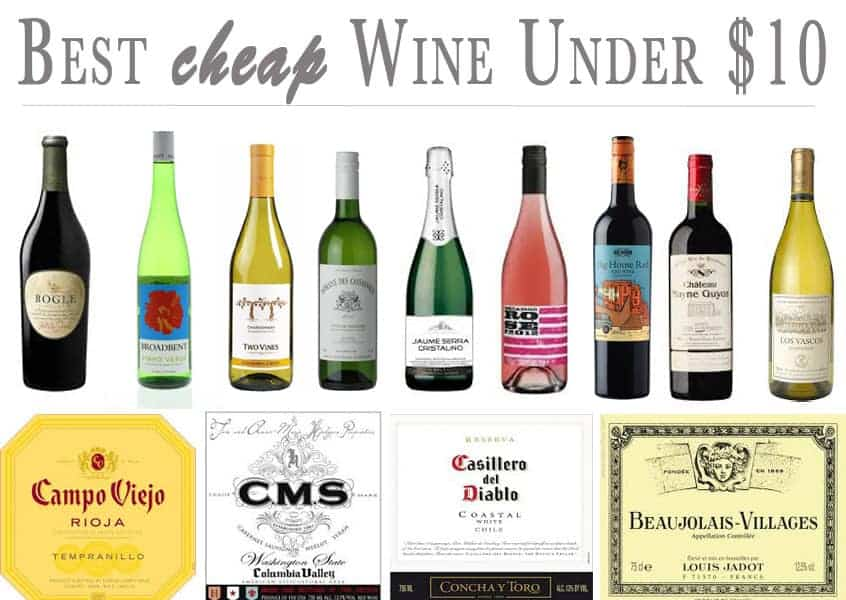 best cheap wines under 10 vindulge