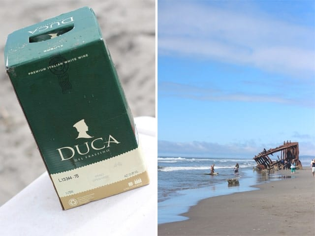 DUCA Garganega/Pinot Grigio 2013 -- Perfect for a day at the beach!