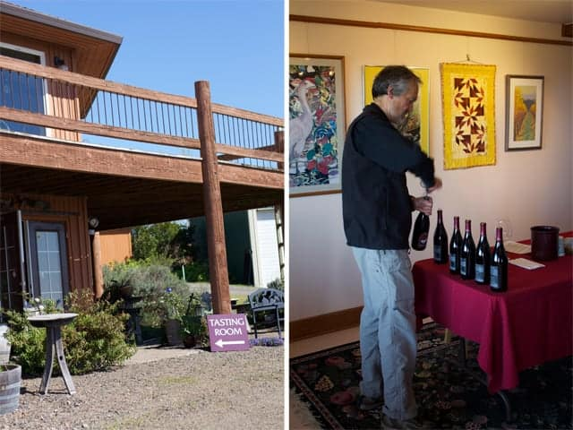 Stag Hollow Winery Tasting Room