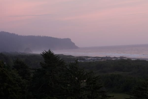 Sunset in Neskowin Oregon