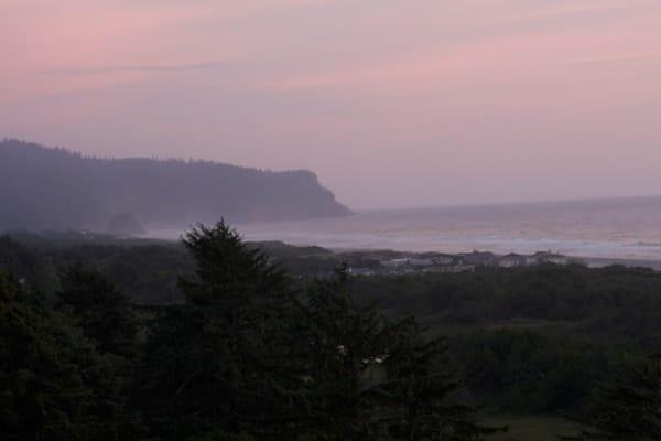 Sunset in Neskowin Oregon