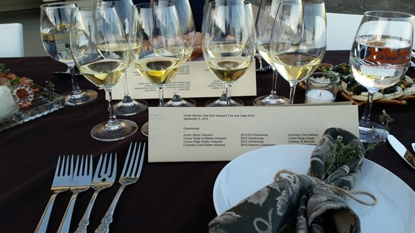 Dinner With  Horse Heaven Hills Wine Growers