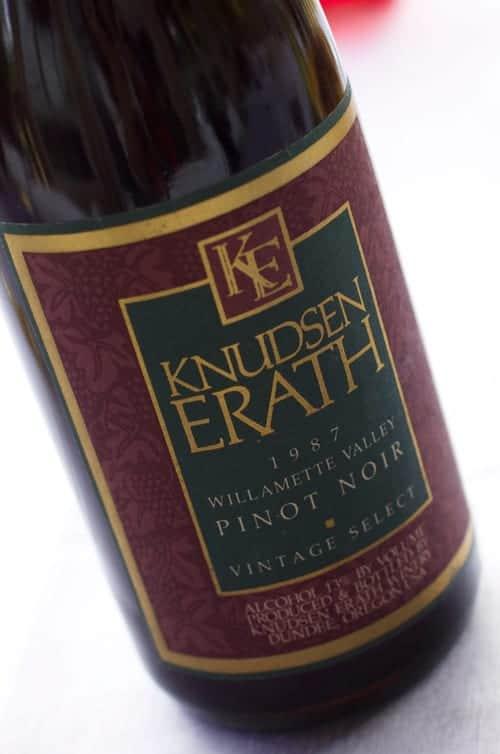 Knudsen Erath 1987 Willamette Valley Pinot-Noir