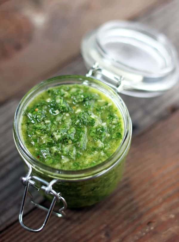 Basic Chimichurri Sauce Recipe