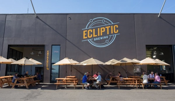 Ecliptic Brewing – come for the beer, stay for the food