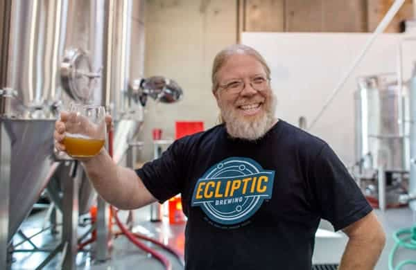 John Harris owner of Ecliptic Brewing