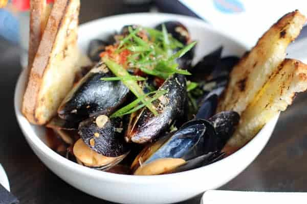 The Mussels at Ecliptic Brewing
