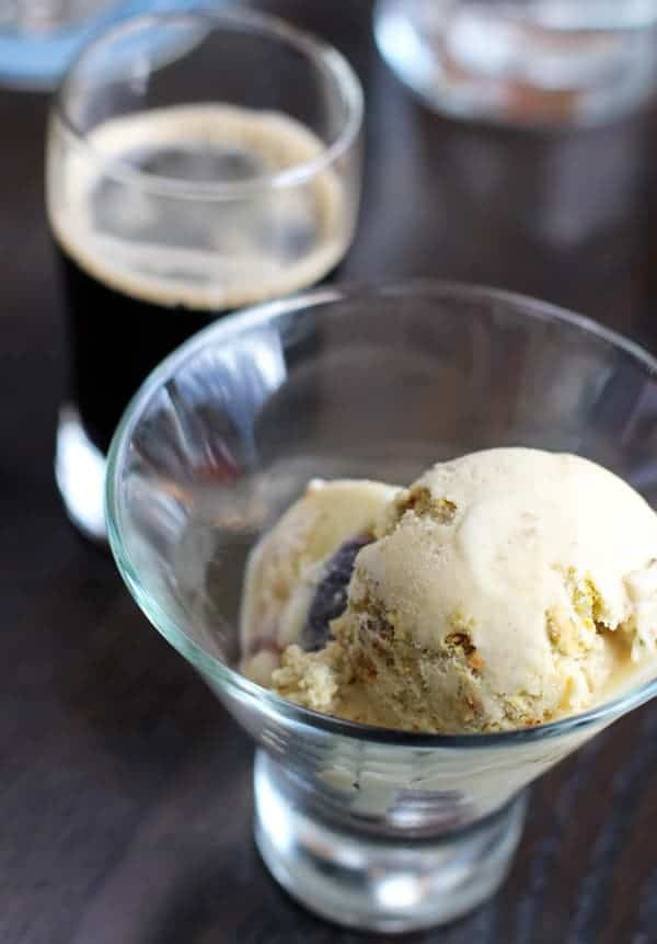 Vanilla fig pistachio ice cream from Ecliptic Brewing