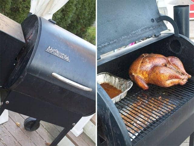 Smoking a Thanksgiving Turkey. So good!