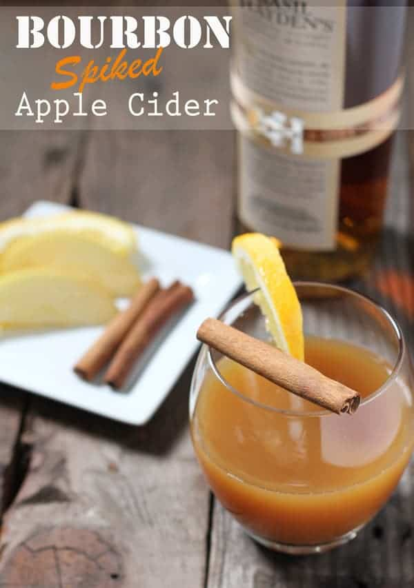 Bourbon Spiked Apple Cider