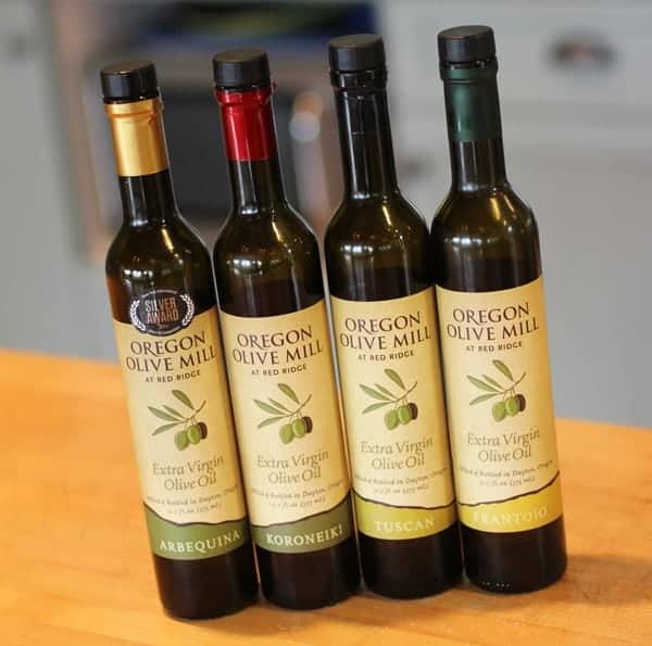 Oregon Olive Mill at Red Ridge, Extra Virgin Olive Oils