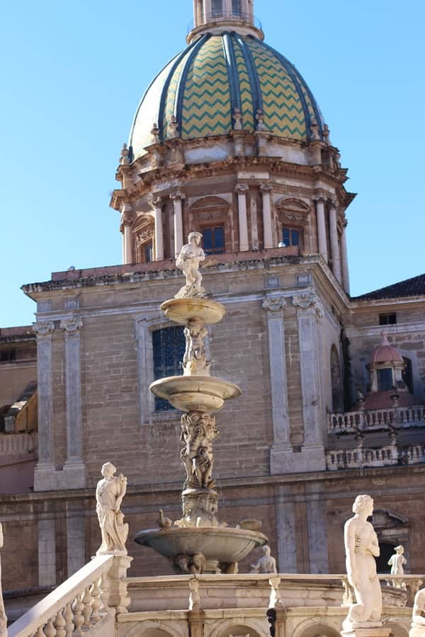 Scenes from Palermo, Sicily, Italy