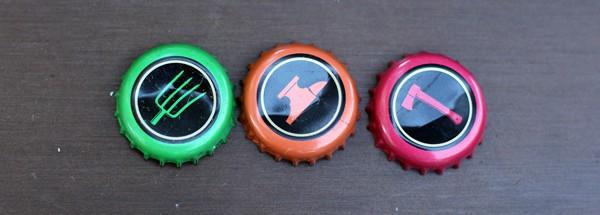 Sonoma Cider bottlecaps