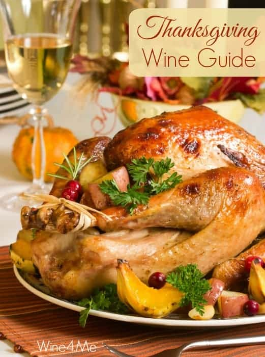 Thanksgiving Wine Guide from Wine4.Me Wine App