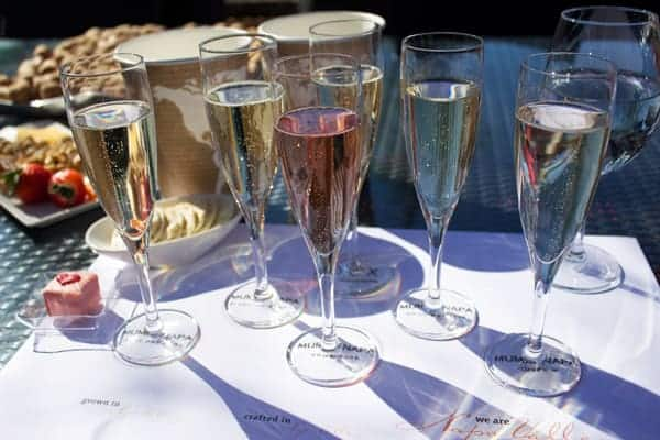 best places to drink sparkling wine in wine country