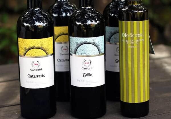 CVA Canicattì, Wines of Sicily