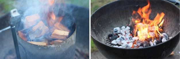 How to roast chestnuts on an outdoor grill
