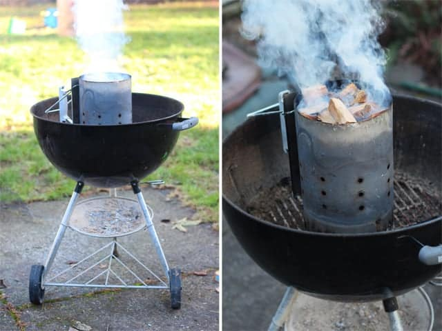 How to roast chestnuts on a grill