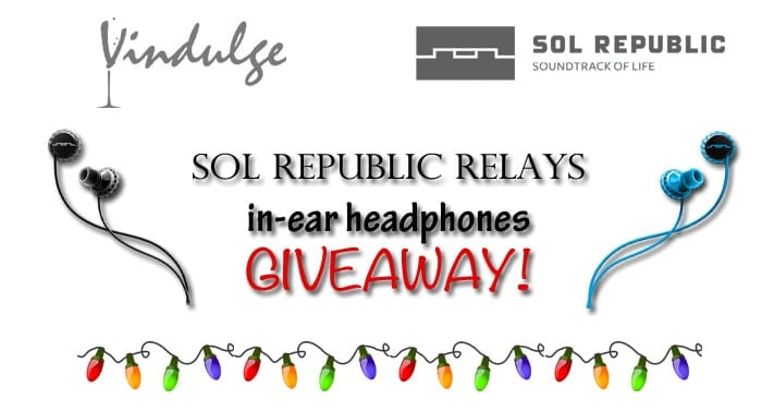 SOL REPUBLIC RELAY in-ear headphone Giveaway