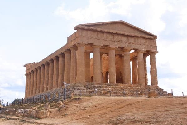 Temple of Concord, Valley of the Temples, Sicily, Italy